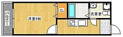 ドマーニASOU[4階]の間取り