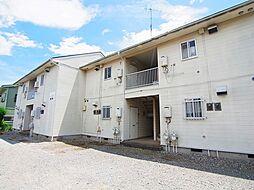 千葉県流山市松ケ丘2の賃貸アパートの外観