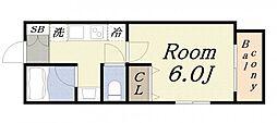 GRANDEL・K[3階]の間取り