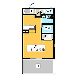 青空荘[1階]の間取り