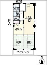 伊藤信ビル[2階]の間取り