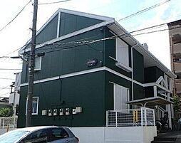 埼玉県さいたま市中央区鈴谷4丁目の賃貸アパートの外観