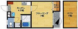 エムズハウスII[2階]の間取り