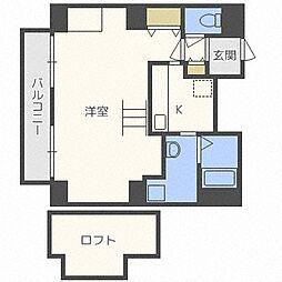e-ハウス[13階]の間取り