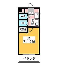 MJ千春[2階]の間取り