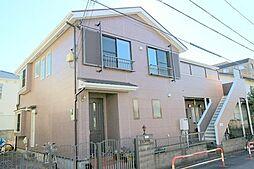 東京都世田谷区深沢6丁目の賃貸アパートの外観