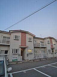 埼玉県ふじみ野市福岡武蔵野の賃貸アパートの外観
