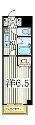 ラ・メゾンM2[2階]の間取り