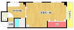 キタムラビル[2階]の間取り