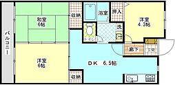 ウィステリアハウス[2階]の間取り