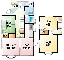 [一戸建] 千葉県茂原市茂原 の賃貸【/】の間取り