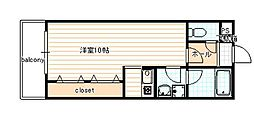 ヴァンヴェール35[405号室]の間取り