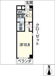 ウェスト ステージ[1階]の間取り