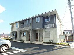 福岡県北九州市小倉南区上石田3丁目の賃貸アパートの外観