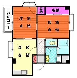 メゾンパート3[103号室]の間取り