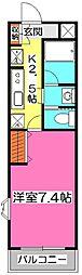 クレールIII[3階]の間取り