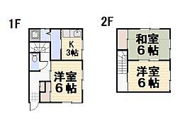 [一戸建] 埼玉県入間市大字下藤沢 の賃貸【/】の間取り