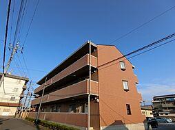 栃木県宇都宮市峰2丁目の賃貸アパートの外観