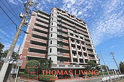 福岡県北九州市若松区白山2丁目の賃貸マンションの外観