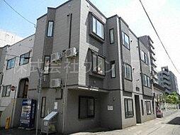 北海道札幌市中央区南五条西12丁目の賃貸アパートの外観