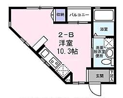 東京都武蔵野市吉祥寺東町1丁目の賃貸アパートの間取り