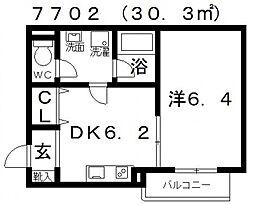 FStyle上田(エフスタイル上田)[202号室号室]の間取り