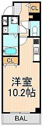 アールレジデンス東駒形H203[2階]の間取り