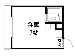 プチエレガンス[2階]の間取り