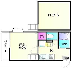 MIUハウス[2階]の間取り