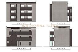 CASA VIVACE 北野田(カーサ ヴィヴァーチェキタノダ)[3階]の外観