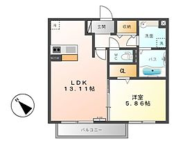 仮)D-room星川[2階]の間取り