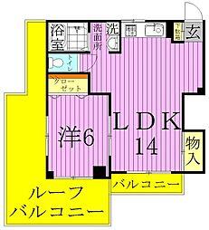 ヘイワハイム[3階]の間取り