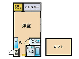 ドリームマーサー[2階]の間取り