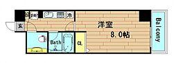 大阪府大阪市西区立売堀4丁目の賃貸マンションの間取り