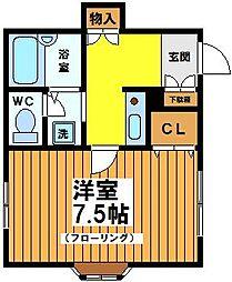 グレーハウス[2階]の間取り