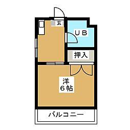 ハイツ松島[2階]の間取り