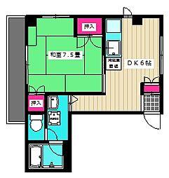 吉澤ビル1[3階]の間取り