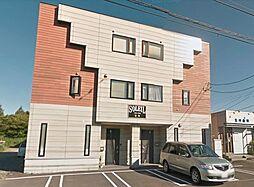 北海道石狩市花川南三条5丁目の賃貸アパートの外観