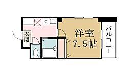 プラザKei−1[201号室]の間取り