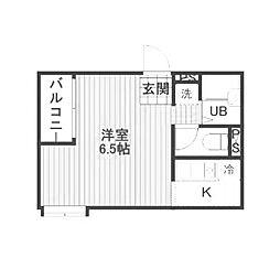 カサレア町田[1階]の間取り