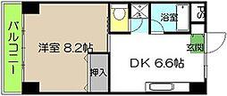 池本マンション[205号号室]の間取り