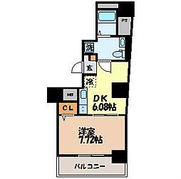 ブルーム桜[2階]の間取り