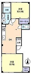 KKビル[2階]の間取り