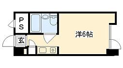 兵庫県西宮市熊野町の賃貸マンションの間取り