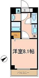 千葉県習志野市谷津2丁目の賃貸マンションの間取り
