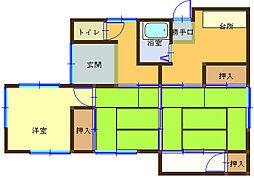 [一戸建] 和歌山県海南市重根 の賃貸【/】の間取り