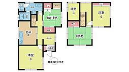 [一戸建] 大阪府豊中市上野西2丁目 の賃貸【大阪府 / 豊中市】の間取り