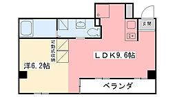 ノベラ西宮江上町[501号室]の間取り