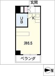 フォーラム守山[6階]の間取り