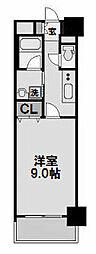セレッソコート新大阪[808号室]の間取り